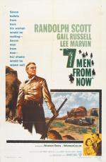 Film Sedm mužů na zabití (Seven Men from Now) 1956 online ke shlédnutí