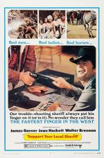 Film Podporujte svého šerifa! (Support Your Local Sheriff!) 1969 online ke shlédnutí