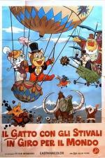 Film Kocour v botách 2: Cesta kolem světa (Puss 'N Boots Travels Around the World) 1976 online ke shlédnutí