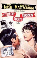 Film Včera, dnes a zítra (Ieri, oggi, domani) 1963 online ke shlédnutí
