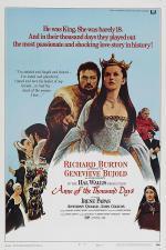 Film Tisíc dnů s Annou (Anne of the Thousand Days) 1969 online ke shlédnutí